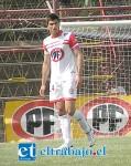 La situación del central Tomas Díaz (numero 24 en su pantalón) al interior del club, fue uno de los motivos por el cual la Inspección del Trabajo multó a Unión San Felipe.