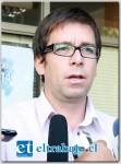 Pablo Silva, Director de Desarrollo Comunitario de la Municipalidad de San Felipe.