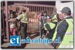 Un estricto control al ingreso del Estadio Municipal a los asistentes del Festival Palmenia Pizarro realizó la empresa de seguridad contratada para el efecto, el que se desarrolló con el constante apoyo de Carabineros, lo que generó un bajo número de detenidos.