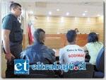El Fiscal Jorge Alfaro dio cuenta que el joven cuando era menor de edad presentaba tres condenas por Robo en lugar no habitado; Robo en bien nación de uso público y Porte de arma cortopunzante.