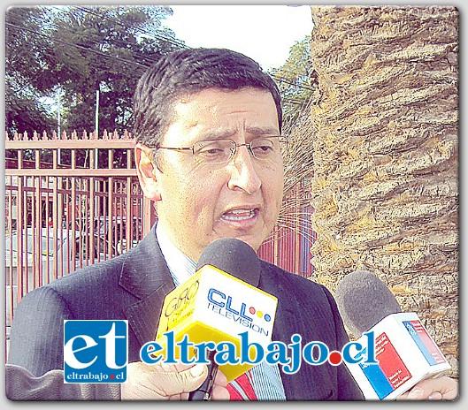 Concejal Claudio Núñez.