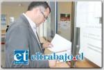 El Gobernador Eduardo León interpuso una querella criminal contra dos imputados y contra quienes resulten responsables del delito de Daños cometidos al interior del estadio municipal.