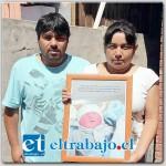 Andrés Muñoz Lobos presentaba 38 semanas de gestación y producto de una asfixia intrauterina, murió en el vientre de su madre a sólo días de la fecha de parto programad