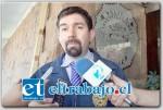 Jefe de la Brigada de Delitos Económicos de la PDI de Los Andes, Jaime Leiva.