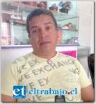 El comerciante Francis Ríos se convirtió en una nueva víctima de robo a locales del centro de la comuna de San Felipe.