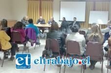 La senadora se reunió con distintas agrupaciones en el Valle del Aconcagua para hablar sobre seguridad y delincuencia.