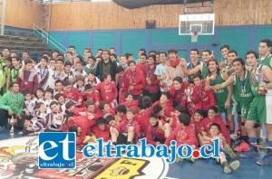 Basquetbolistas de distintos lugares del país brindaron una verdadera fiesta deportiva en honor a San Felipe