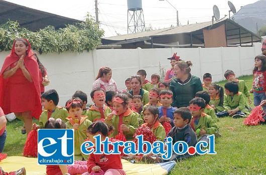 Jardines infantiles del valle de aconcagua celebraron for Jardines integra