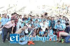 De manera categórica y aplastante la selección de Llay Llay alcanzó el título Regional de fútbol U17