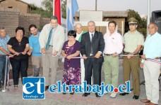 Diversas autoridades asistieron a la ceremonia inauguración del Paseo Peatonal Monolito Capilla El Tártaro.