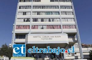 El lactante de cuatro meses se encontraba internado en la UCI Pediátrica del Hospital Carlos Van Büren de Valparaíso, falleciendo este viernes. (Archivo).