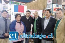 Autoridades locales junto al Director Regional de Sercotec, Víctor Hugo Fernández, anunciaron inicio de postulaciones a programas 2016.
