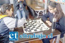 FIEBRES DEL AJEDREZ.-En los juegos escolares se desarrollan dos categorías, una es Sub14, donde los niños tienen la posibilidad de asistir al Nacional de la categoría y la otra puede ser Sub16, Sub17 o Sub18, dependiendo del deporte.