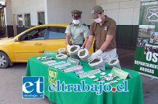 El 17 de febrero del 2015 los efectivos de OS7 de Carabineros incautaron dos kilos de marihuana en cogollo desde el domicilio del actual condenado apodado 'El Pitufo' en la comuna de Catemu, además de dinero en efectivo y un colectivo utilizado para la distribución.