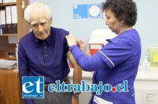 Se invita a todos los adultos mayores, mujeres con más de 13 semanas de embarazo y pacientes crónicos de Putaendo, a vacunarse contra la influenza en el Cesfam Valle de Los Libertadores.