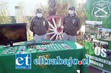 El 10 de agosto del 2015 personal de OS7 de Carabineros allanó la vivienda de los actuales sentenciados en la población El Salitre de Llay Llay, incautando marihuana, dinero y una escopeta.