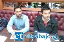 Felipe Rodríguez junto a Felipe Cuevas, integrantes de la ONG Influyamos, dieron a conocer resultados de consulta popular realizada durante el mes de mayo.