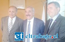 Gobernador de la Provincia de San Felipe y Alcalde Patricio Freire, participaron de reunión con la máxima autoridad regional