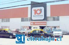 La dupla delictiva robó las especies desde un camión del Supermercado Mayorista 10 ubicado en calle Santo Domingo 111 en San Felipe, siendo reducidos por los guardias de seguridad.