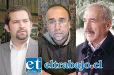 Los Concejales Basilio Muena y Ricardo Covarrubias están condicionando apoyo al Alcalde de San Felipe, Patricio Freire Canto.