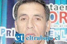 Presidente comunal de la Democracia Cristiana, Julio Zegers Mena.