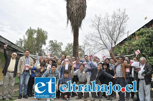 El manual fue presentado en la sede del Partido Radical en San Felipe, junto a candidatos de las dos provincias además de equipos de trabajo y dirigentes regionales del partido.