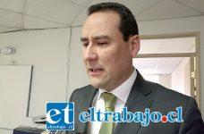 Fiscal jefe del Ministerio Público de San Felipe, Eduardo Fajardo De La Cuba.