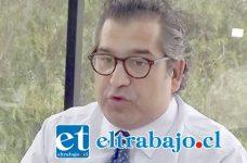 Eugenio Cornejo, candidato a la alcaldía, pide una campaña limpia y sin violencia. (Foto archivo)