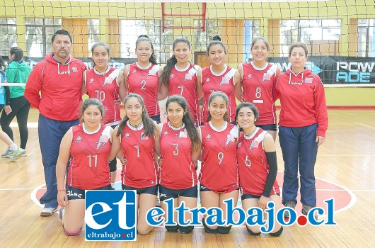 El equipo campeón, está compuesto por: Sofía Contreras, Alejandra Castro, Martina González, Lilian Leiva, Greace Cádiz, Gabriela Badilla, Carolina González, Cony Sánchez, Maura López y Emilia Gallardo Salazar.