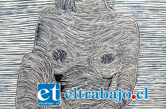 UN CLÁSICO.- Éste es un negativo en madera, toda la imagen quedará impresa en colores invertidos en papel, cartón o tela.