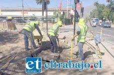 La última etapa del proyecto de cambio de veredas, comenzó a ejecutarse hace unos días en la avenida Yungay, correspondiente al tramo entre Bernardo Cruz y Miraflores.