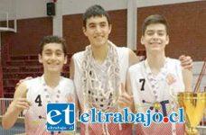 Tres de los mejores proyectos de San Felipe Basket integrarán la selección chilena U15.
