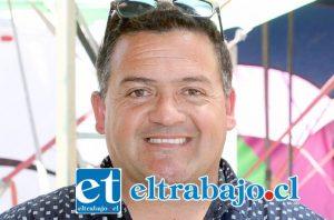 Representante para Sudamérica de Circo Los Vásquez, Ariel Muñoz.