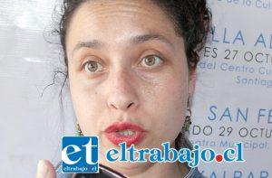 Directora de Teatro LaWasha, Fabiola Díaz.