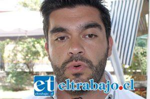 Felipe 'El Pelao' Cuevas Mancilla, busca ser el próximo alcalde de San Felipe.