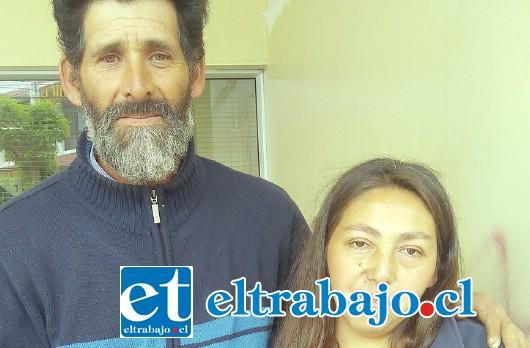 Teresa Herrera Páez y Luis Lazcano Olivares, padres cuidadores del niño, las nuevas víctimas del sistema.
