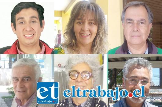 Mario Villanueva, Patricia Boffa, Dr. Christian Beals, Dante Rodríguez, Juan Carlos Sabaj e Igor Carrasco, el nuevo Concejo Municipal 2016-2020.