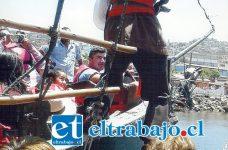 Los abuelitos, recorrieron algunos lugares como: las ciudades de La Serena, Coquimbo y el sector de 'Punta de Choro'.