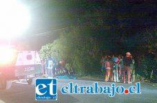 El lamentable accidente de tránsito tuvo como consecuencia la muerte de un ciclista de 42 años de edad domiciliado en el sector El Arrayán de Catemu.