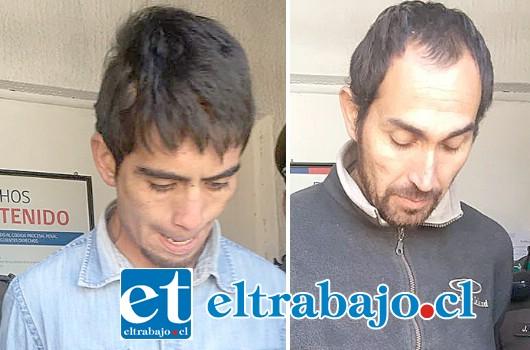 Los condenados Luis Saravia Reinoso (32) y Matías Iván Flores Molina (21) fueron sentenciados a la pena de 5 años y un día de cárcel por el delito de robo con intimidación ocurrido en Catemu el 20 de abril de este año.