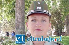 Capitán Carolina Fernández, Comisario (S) Carabineros.