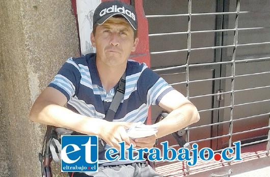 Así podemos encontrar a Cristian Hernández Galdámez, tras el atropello ocurrido en el mes de marzo del 2015 camino a Santa María.