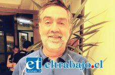 Danilo Peña, director del Departamento de Deportes de la Municipalidad de San Felipe.