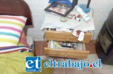 Los sujetos desordenaron todas las habitaciones para desvalijar la vivienda cerca de las dos de la madrugada del pasado viernes.