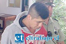 El imputado de 23 años de edad, fue detenido por Carabineros por el delito de robo al interior de la Capilla San Pedro Nolasco de San Felipe.