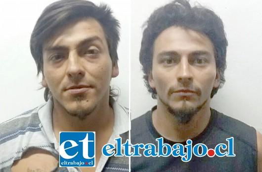Los dos implicados en el hurto fueron detenidos por Carabineros para ser derivados hasta el Juzgado de Garantía de San Felipe.
