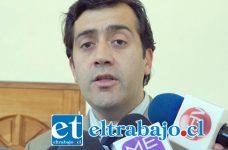 El fiscal jefe del Ministerio Público de Los Andes, Ricardo Reinoso Varas.