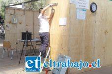 En el Liceo Industrial, Guillermo Richard Cuevas de San Felipe, se desarrollan las 1º Olimpiadas de Habilidades Técnicas, competencia de Instalaciones Sanitarias.