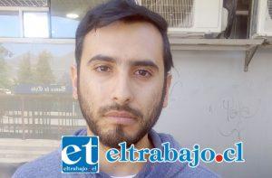 Marcelo Ruiz Herrera, joven empresario dueño de cafetería afectada por millonario robo el pasado fin de semana.
