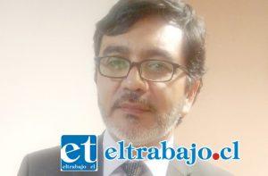 Seremi de Agricultura de Valparaíso, Ricardo Astorga.